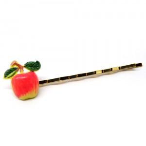 レトロフルーツのヘアピン林檎