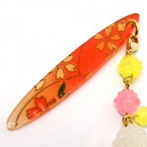 金平糖づくしの帯飾り桃3