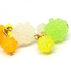 金平糖づくしの帯飾り緑2