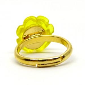 薔薇のゼリィの指輪黄2