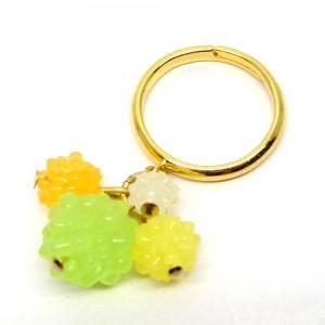金平糖のリング緑1